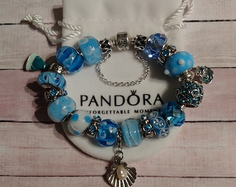06cd8010e ... discount code for authentic pandora ariel little mermaid under the sea  sterling bracelet with pandora disney ...