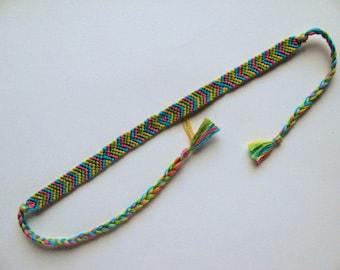 Tropical Friendship Bracelet