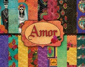Sabor Papel 39 s Amor Paper Collection Designed by Crystal Domi Paper Pack