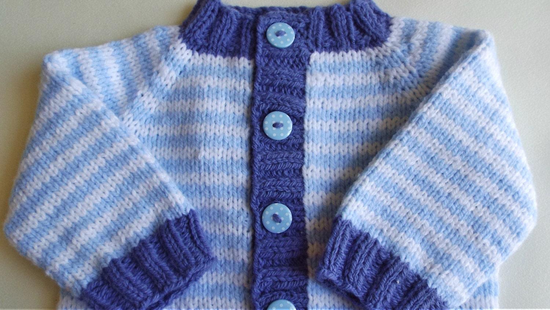 Nautica Boys Stripe Cardigan Sweater Cardigan Sweater