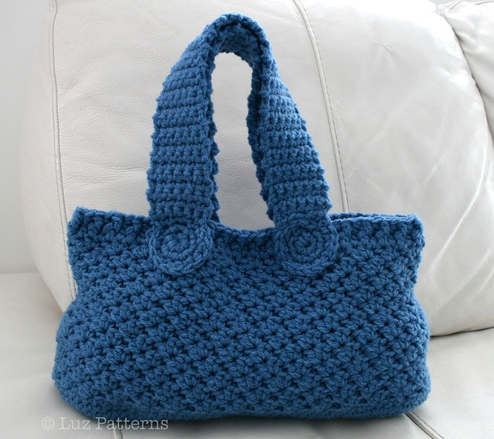 Crochet Handbag Pattern Custom Inspiration Design