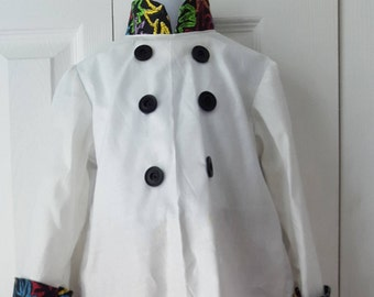 Child's Chef Costume with Hat Size 4