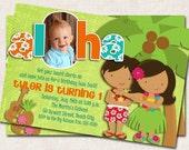 Items Similar To Aloha Luau Birthday Party Invitation