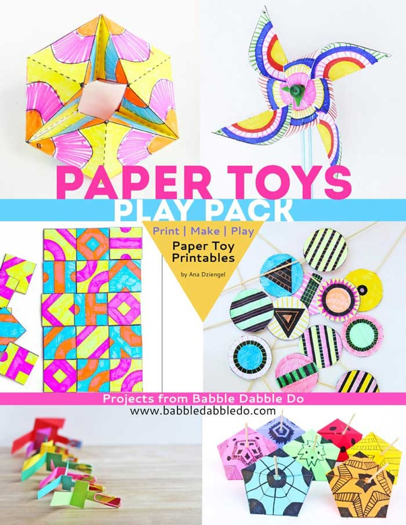 Paper Toys Play Pack image 0