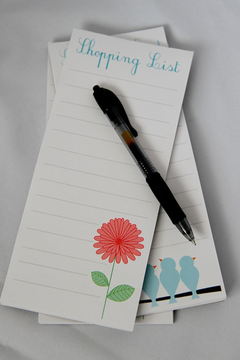 Shopping List Magnetic Notepad  set of 3  image 0