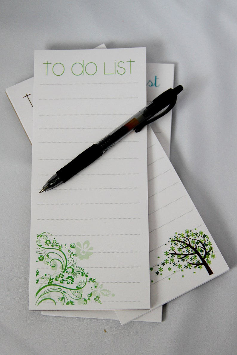 To Do List Magnetic Notepad  set of 3 image 0