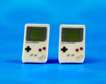Original Nintendo Game Boy Stud Earrings