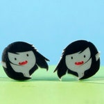 Adventure Time Earrings Marceline the Vampire Queen
