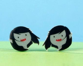 Adventure Time Earrings Marceline the Vampire Queen