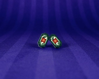 Final Fantasy VI Tiny Magicite Earrings