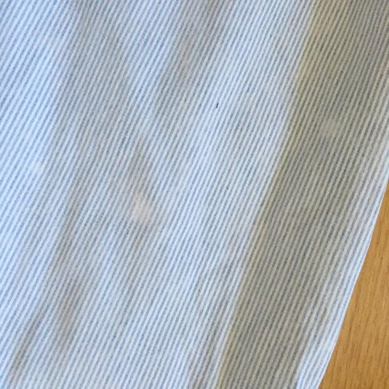 Brittania Denim Vintage 1990s Light Wash Striped High Rise Denim Jeans