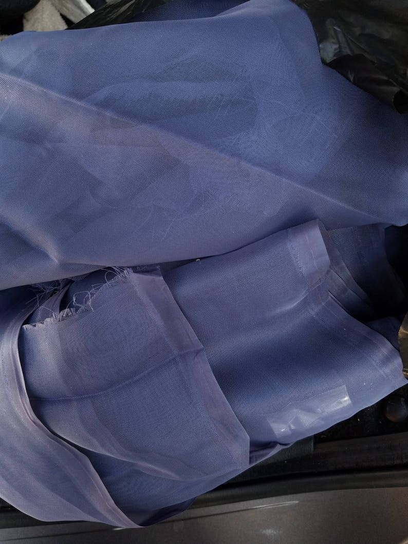 Pantone Color of the Year Chiffon/Georgette Silk Material (Table Cloth,  Table Runner) - 12 yards