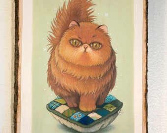 Patchwork #3- Original Painting by Phoenix Chan