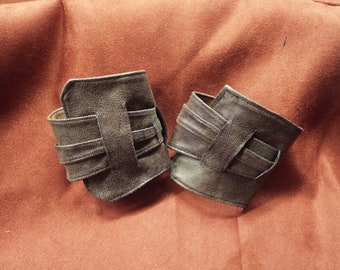 Faux Leather Women's Armbands