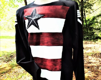 US Agent Shirt with matching black pants