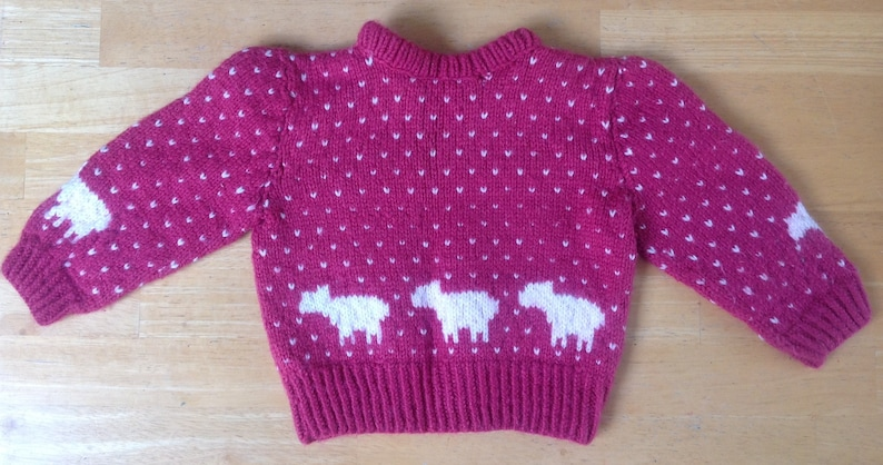 Children/'s knitted sweater
