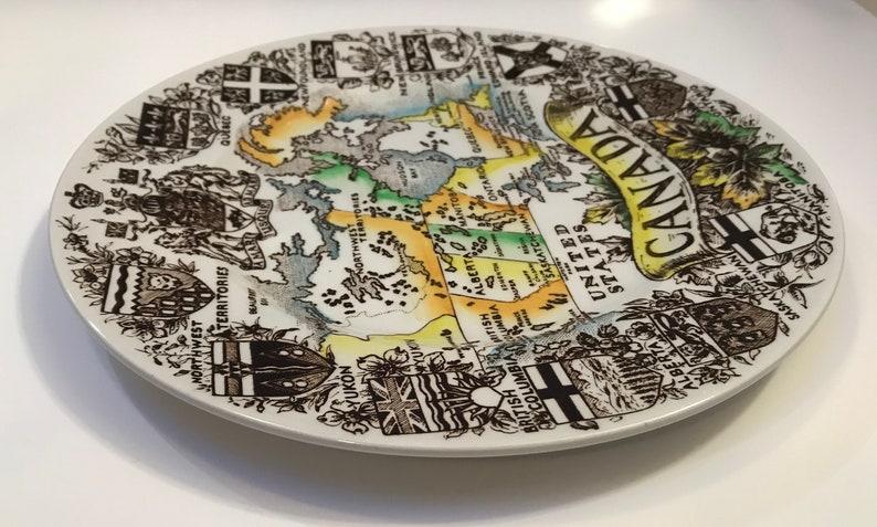Canada collectors plateVintage Wood /& SonsEnglish Ironstone