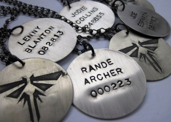 The last of us inspired custom namenumber firefly pendant etsy image 0 aloadofball Image collections