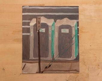 Portajohn Oil Landscape Painting on board