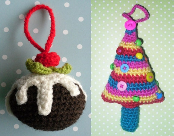Wooly Likes To Hook Crochet Christmas Pudding And Christmas Etsy