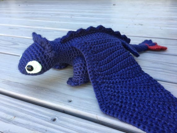 Toothless Night Fury Crochet Pattern How to Train Your