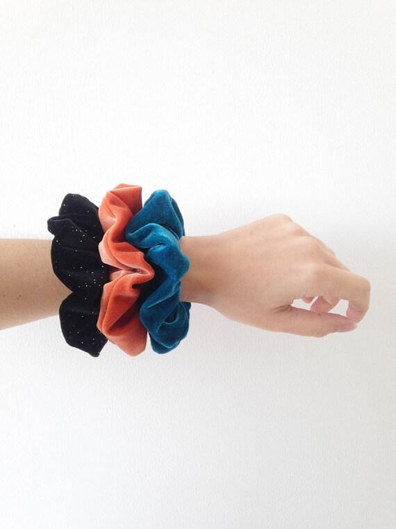 Velvet Scrunchies Set Velvet Scrunchie Pack Scrunchies Set | Etsy - Hair Beauty