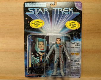 Star Trek Original Series Captain Kirk in Environmental Suit Action Figure - New in Box - from episode The Tholian Web