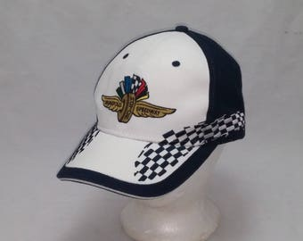 ebff803d29a Vintage 1990s Trucker Ball Cap - Indianapolis Motor Speedway - Hipster