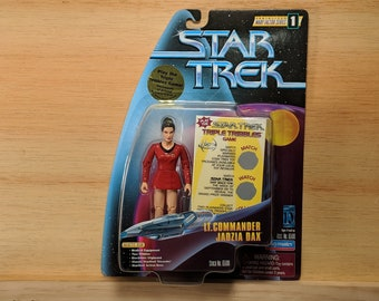 Star Trek Deep Nine  Lt. Commander Jadzia Dax Action Figure - New in Box - from episode Trials and Tribble-ations