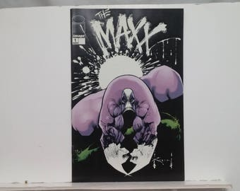 THE MAXX Issue 1 - GLOW in the Dark Alternate Cover - Image-Wizard Comic Books, 1993 - Very Fine Condition, First Printing