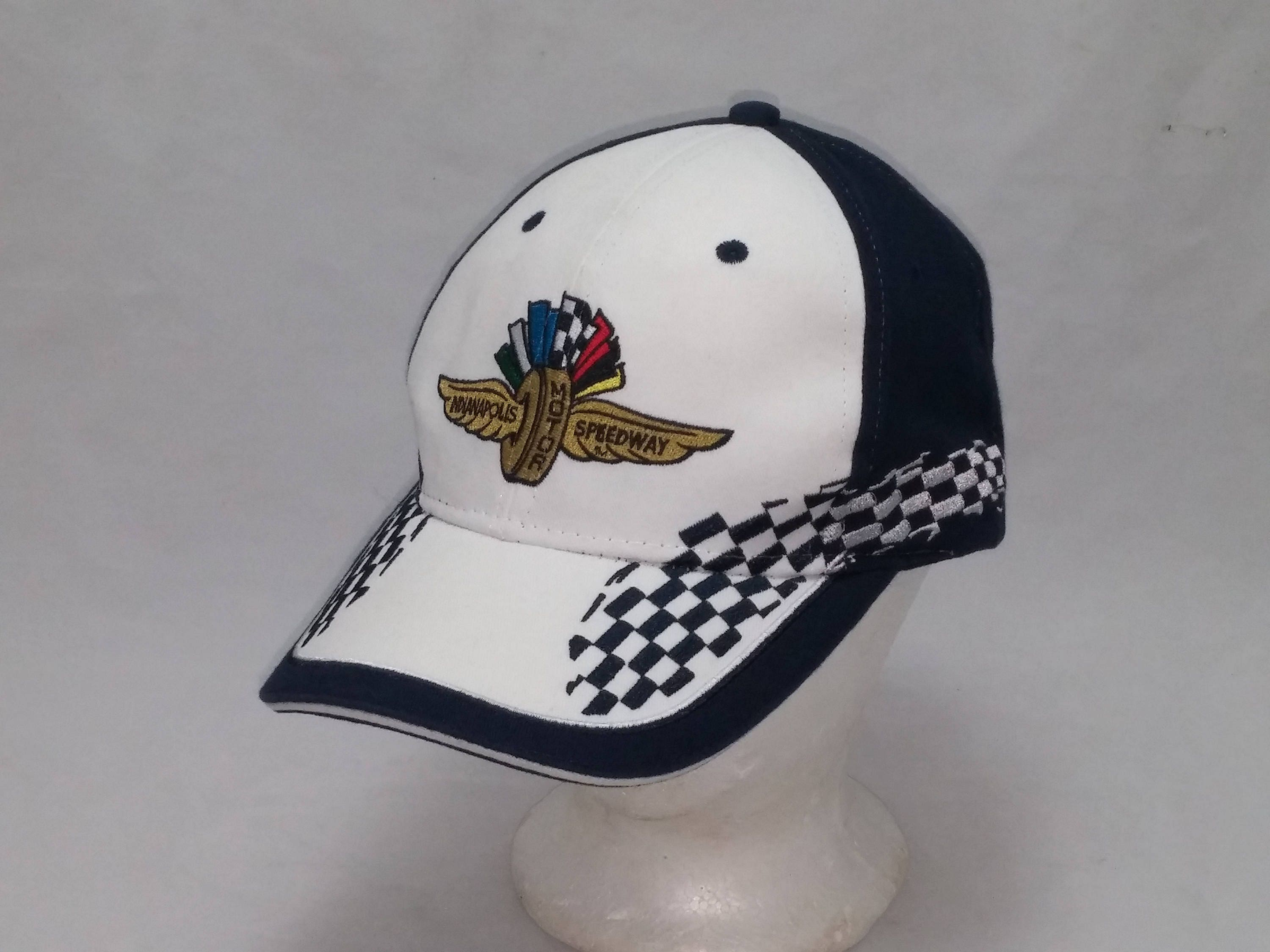14bf4f027 Vintage 1990s Trucker Ball Cap - Indianapolis Motor Speedway - Hipster,  Rockabilly, Gearhead, NASCAR, Retro, Accessories