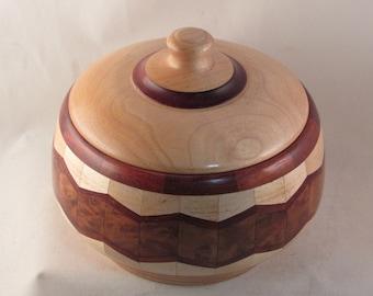Artistic Wood Bowl/wooden bowls/artistic bowls/pet urns/