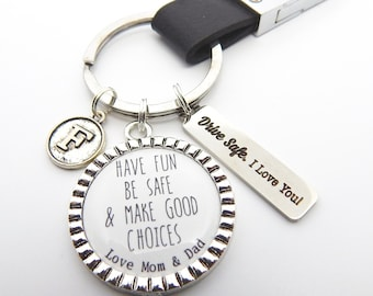 cff463ce8c New Driver Keychain-Personalized Son Gift-16 yrs old teen boy gift-new teen  driver gift-trucker gift-New Driver Keychain Gift-teen boy drive