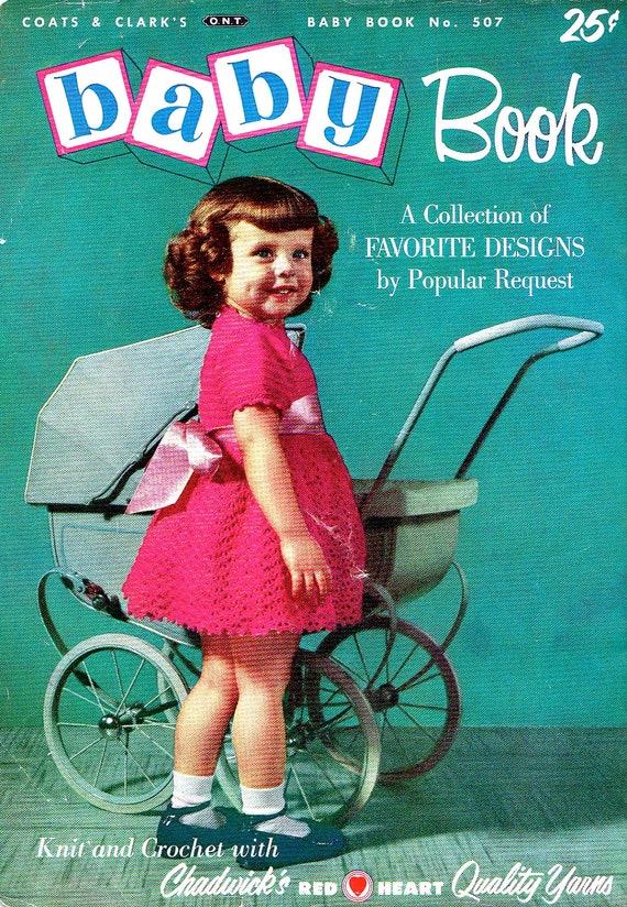 Vintage Patterns Knitting Crochet Chadwicks Baby Book 50s Toddler Sweaters Kids Knitwear Retro How To Knit Crochet
