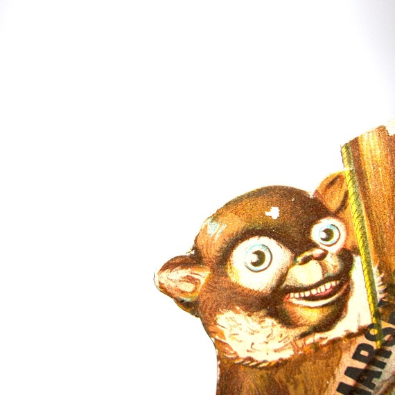 Victorian Ad Monkey Marshall and Ball Clothiers NJ