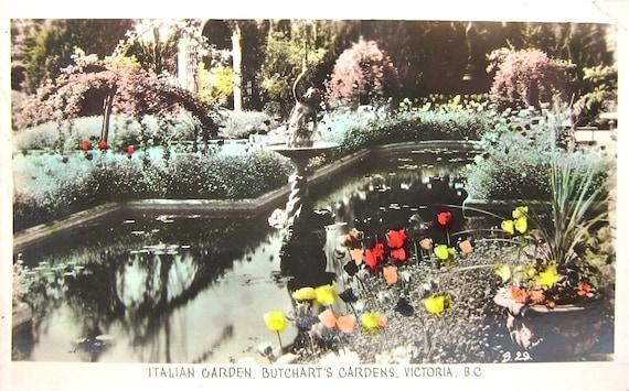 Vintage Real Photo Postcard Gowen Sutton Canadian 1940s