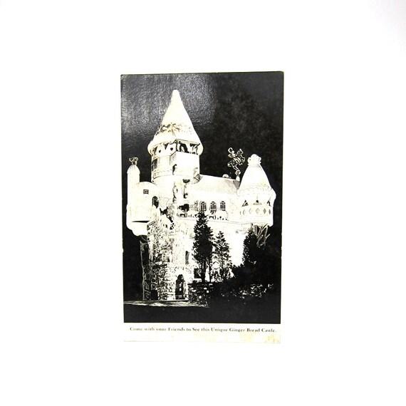 Uneeda Bakers Castle 1930s Post Card Nabisco Hamburg NJ