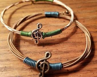 We Banjo 3 Guitar String bangle bracelet