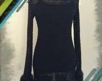 Black Raven Goth Party Dress