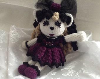 Gothic Kitty Lolita Doll