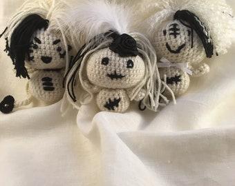 Halloween Amigurumi Ghoulie Bestie Plushies!
