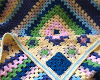Children's Granny Square Blanket