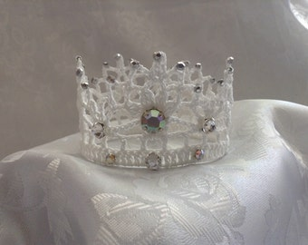 White Wedding Crown
