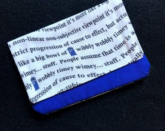 Doctor Who Timey Wimey Wallet