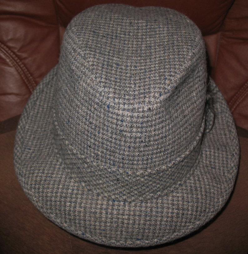 c445d26c53e82 Vintage Oregon Pendleton Fedora Hat Feather Trim Mans Young or