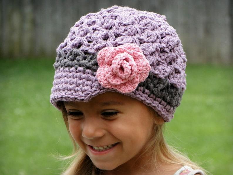 79f5a5415a3 Hat for Girls newsboy hat crochet girls hat baby hat kids