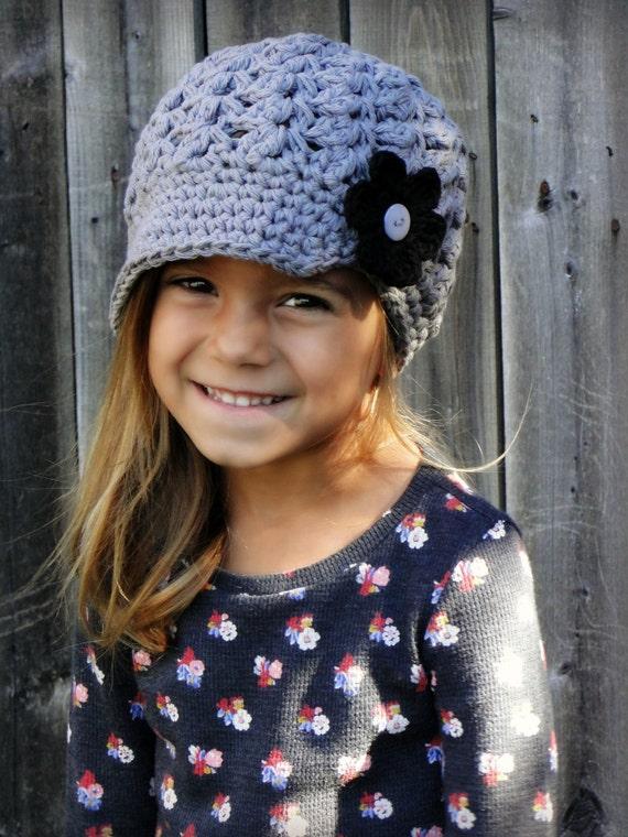 Kinder Mütze Mit Austauschbaren Blumen Schiebermütze Hut Etsy