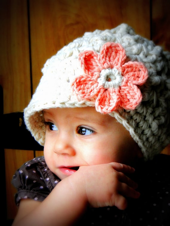 Crochet Baby Hat kids hat crochet newsboy hat hat for  ea65ae2e223