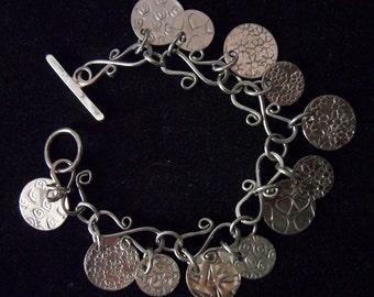 Bracelet - Artisan Nickel Silver Wirework & Metalsmithing 01