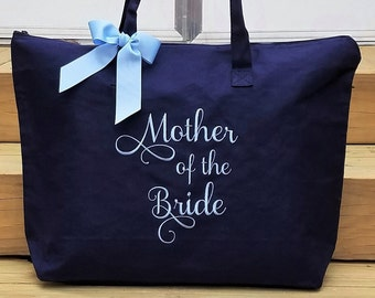 Mother of the Bride Tote Bag Mother of the Groom Tote Bag MOG Tote Bags MOB Tote Bags Personalized Monogrammed Gifts